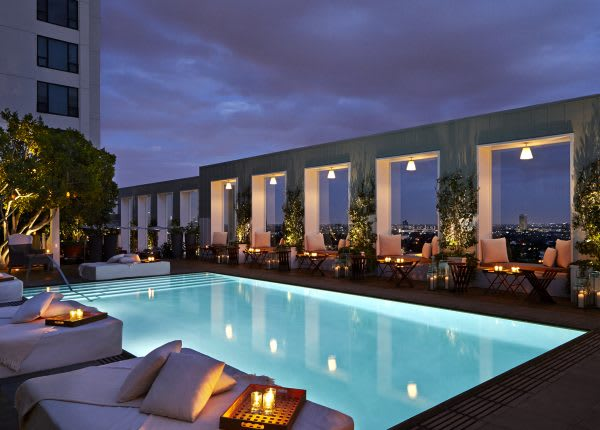Mondrian Hotel resort & Spa Los Angeles