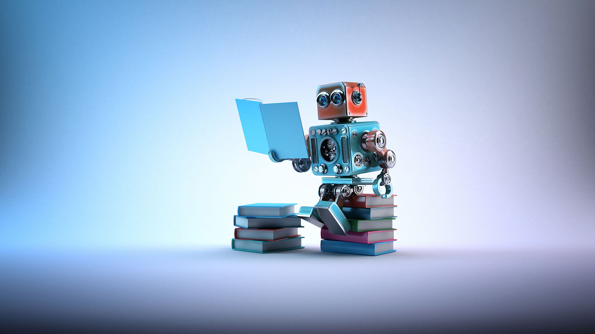 Robot qui lit
