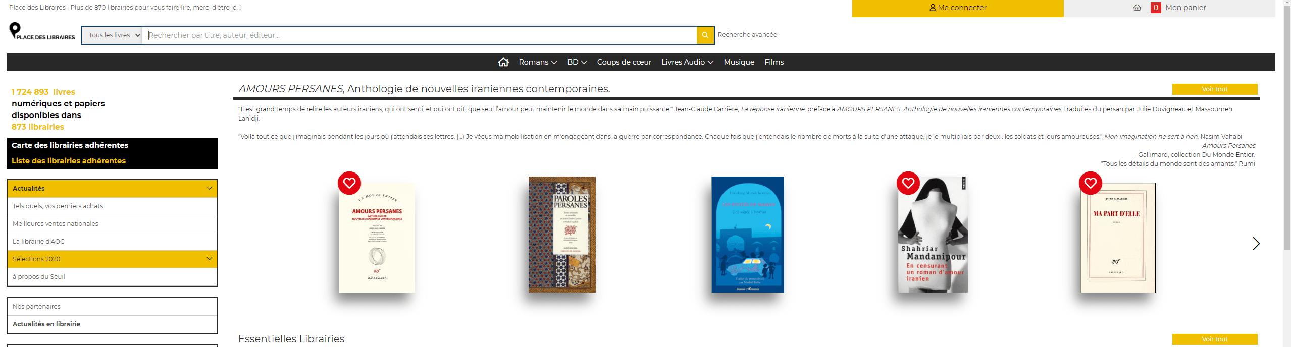 place des libraires accueil